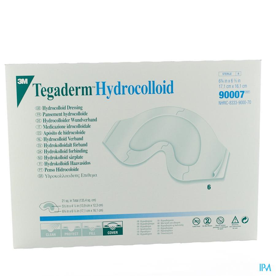 Tegaderm Hydrocol.sacral 16x17cm 6 90007