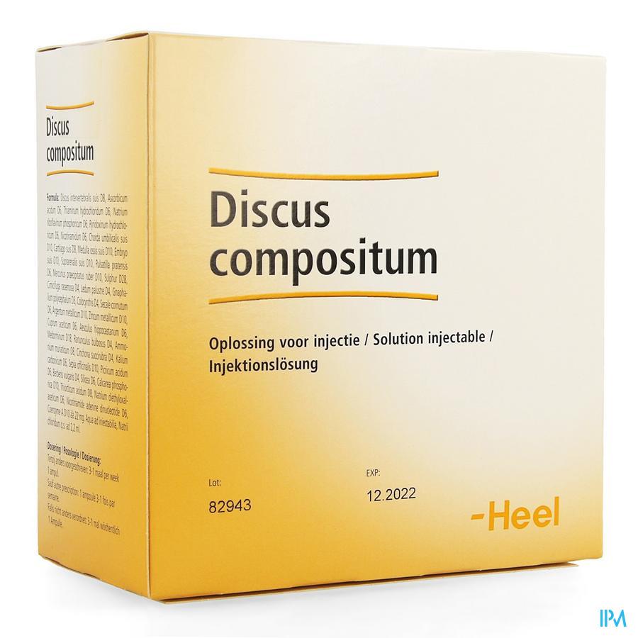 Discus Compositum Amp 100x2,2ml Heel