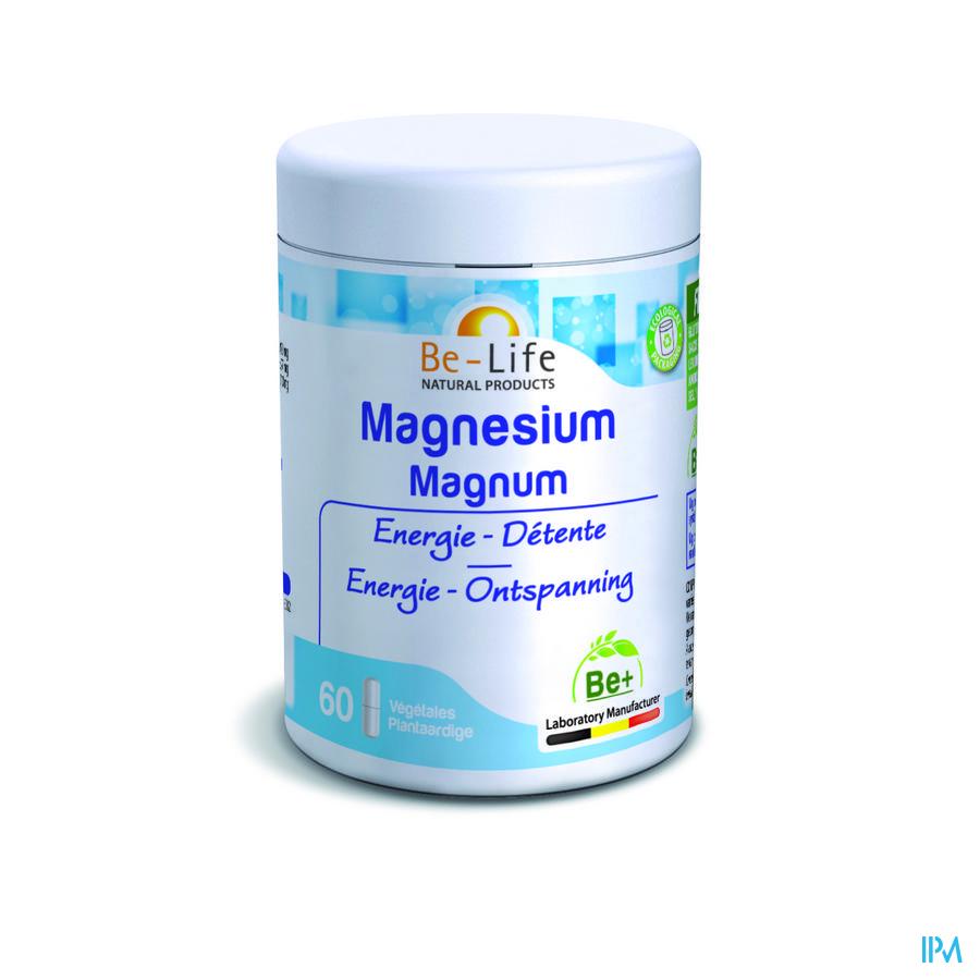 Magnesium Magnum Minerals Be Life Nf Gel 60