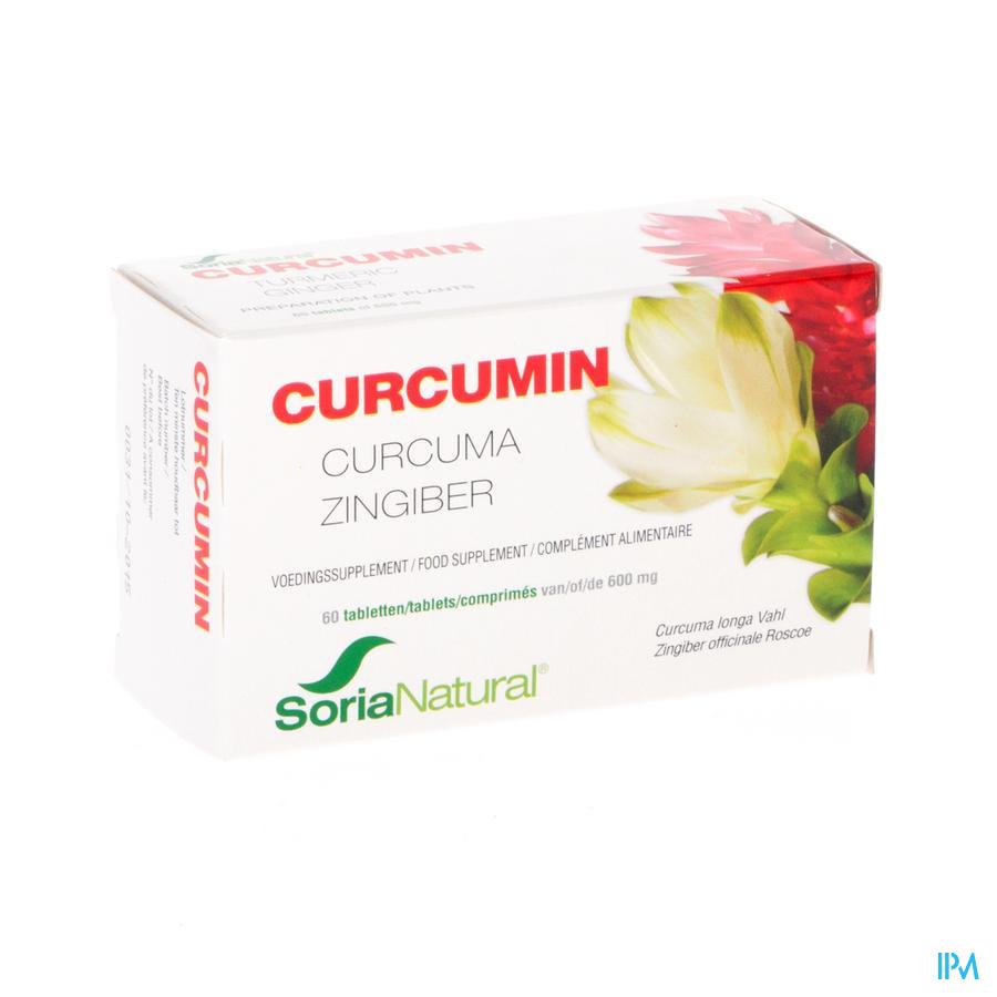 Soria Curcumin 60 Comprimés