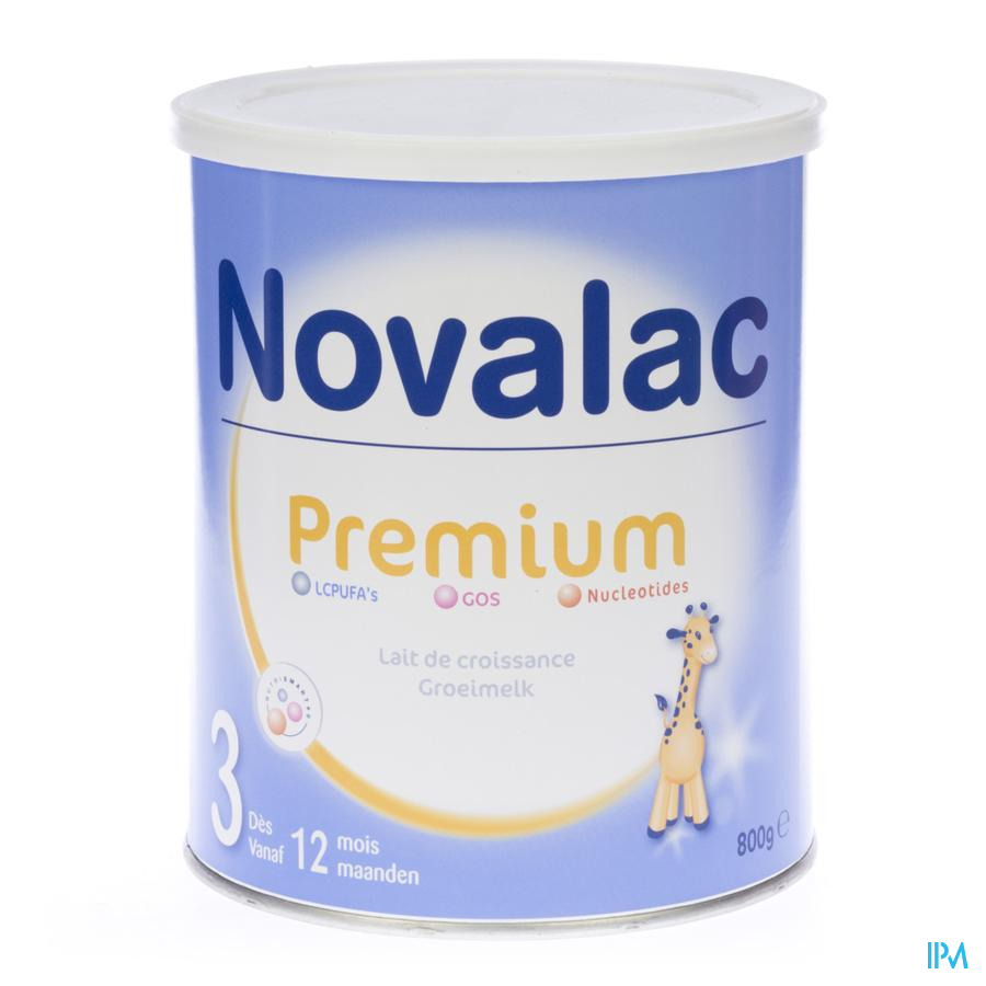 Novalac Premium 3 Pdr 800g