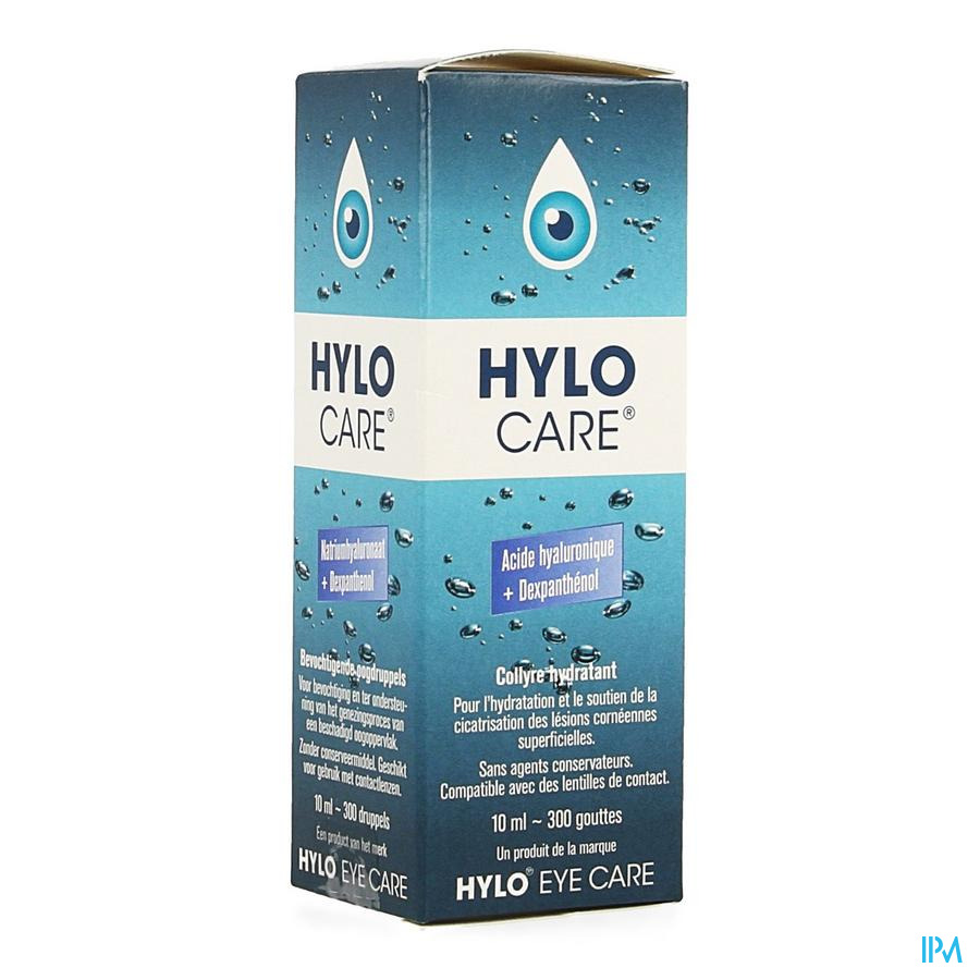 Hylo-care Gutt Oculaires 10ml