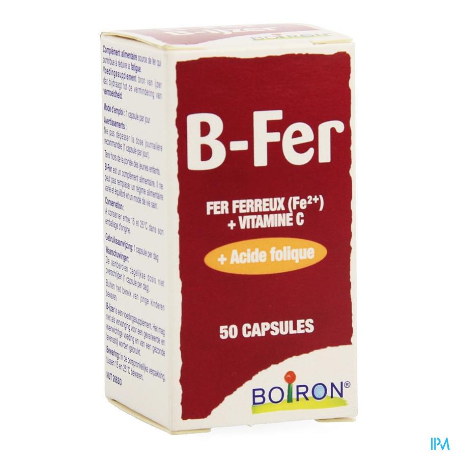 B-fer Nutridoses Caps 50 Boiron