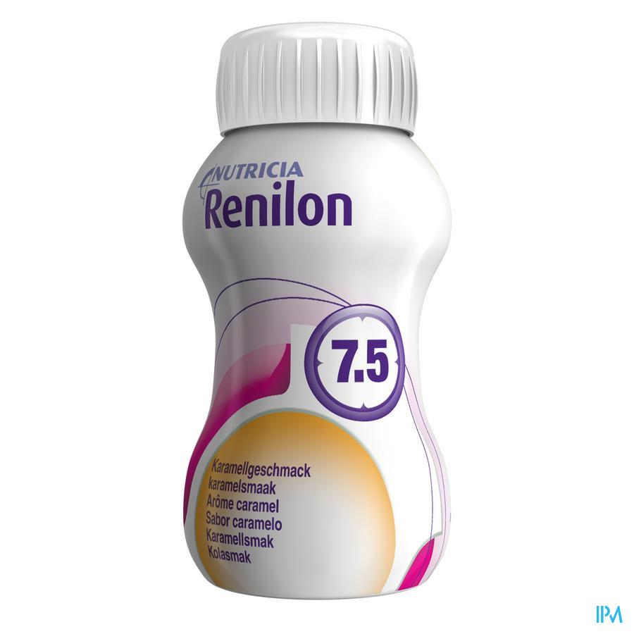 Renilon 7.5 Karamel Fles 4x125 ml 570978