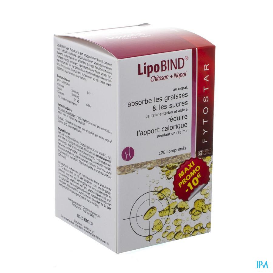 Fytostar Lipobind Chitosan Nopal Comp 120