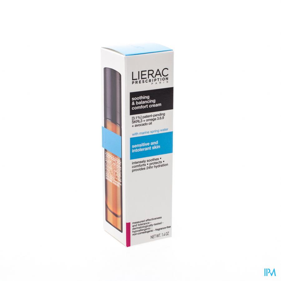 Lierac Prescription Cr Confort Apais&reequil. 40ml