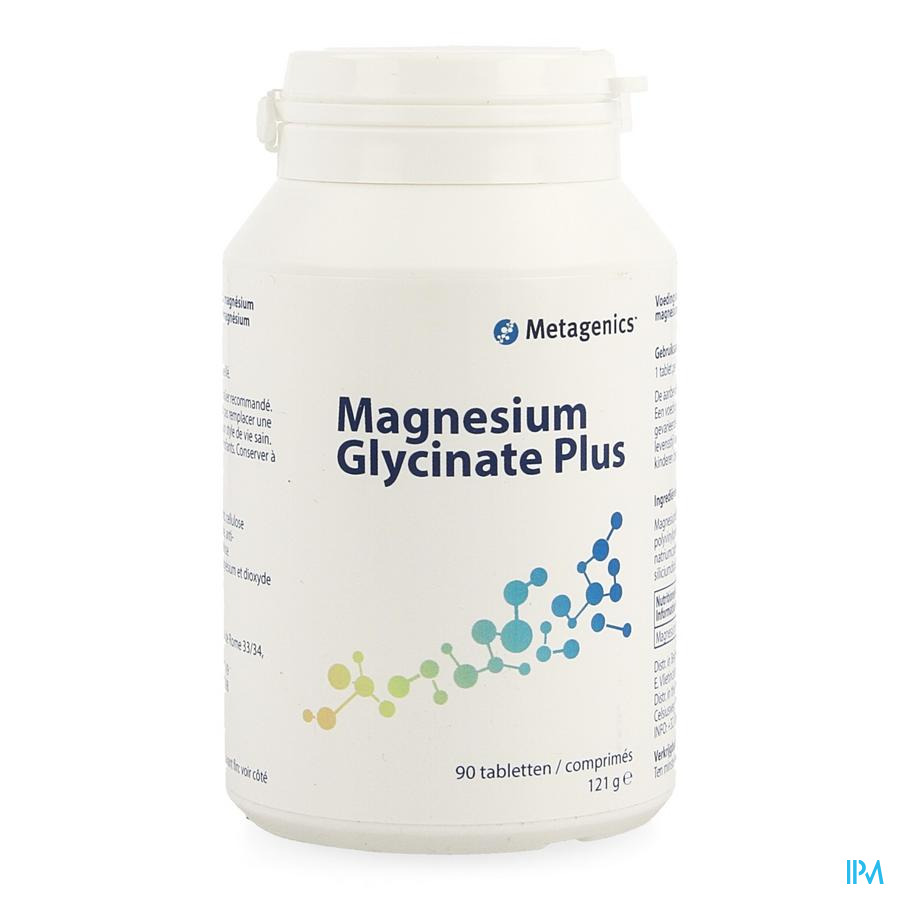 Magnesium Glycinate+ Pot Tabl 90 6872 Metagenics