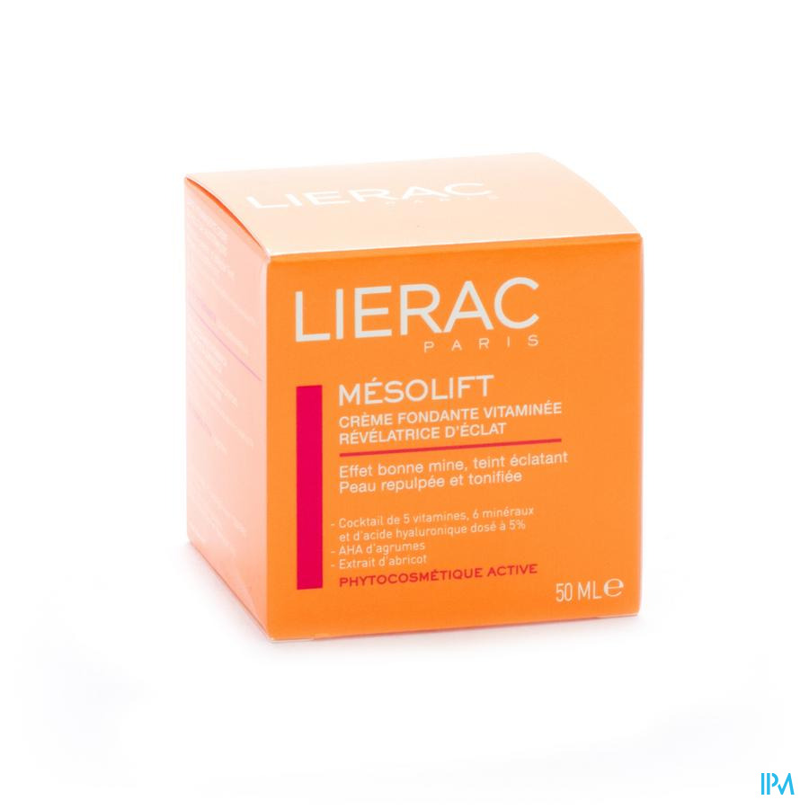 Lierac Mesolift Creme Effet A/age Pot 50ml
