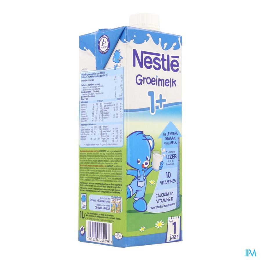 Nestle Groeimelk 1+ Tetra 1l