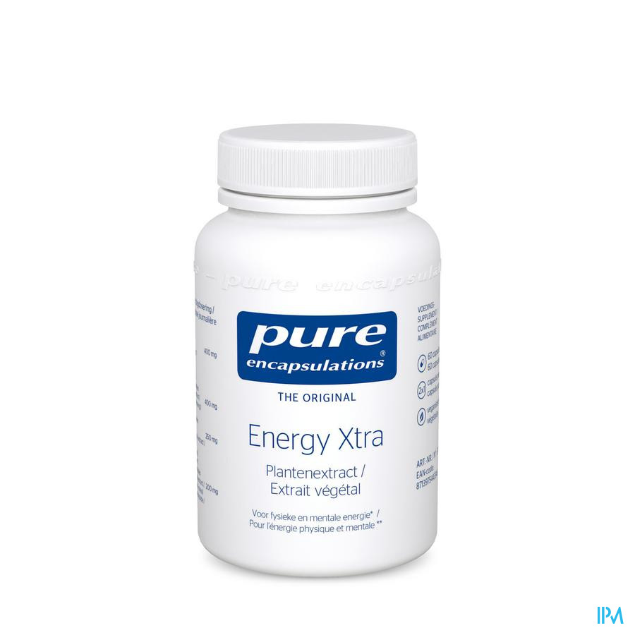 Pure Encapsulations Energy Xtra Caps 60