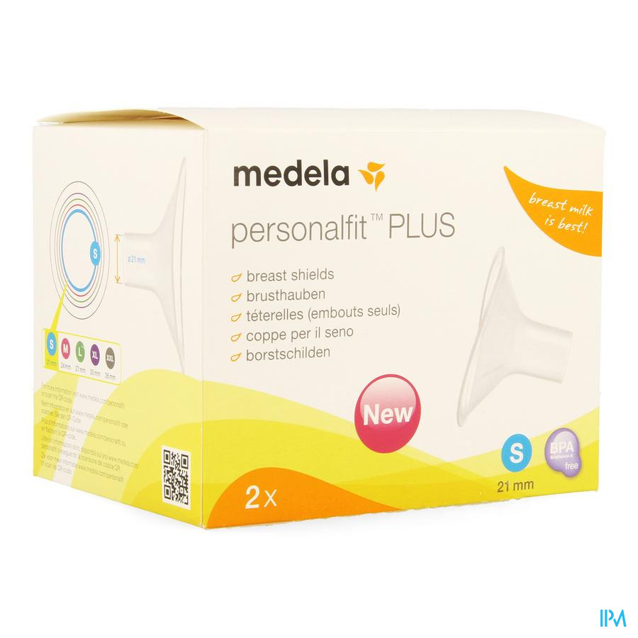 Medela Borstschild Personal Fit Plus S 21mm 1p