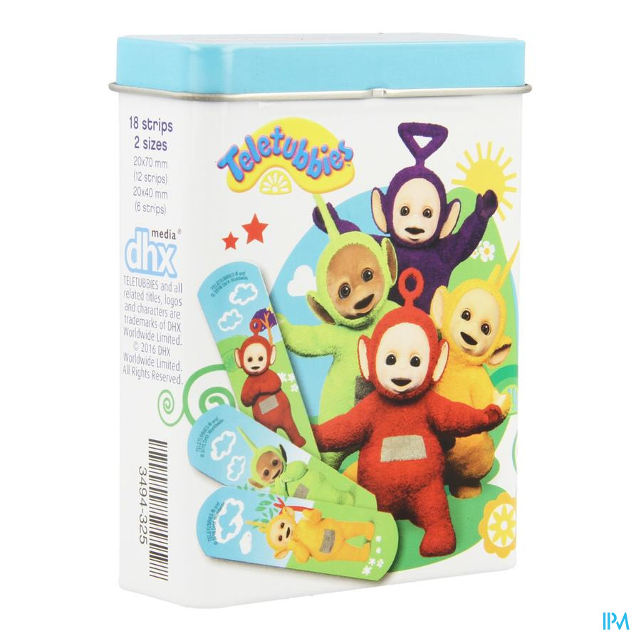 Dermo Care Teletubbies Pleister Strips 18