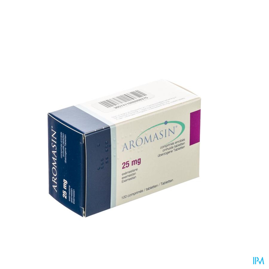 Aromasin Pi Pharma 25mg Comp Pell 100 X 25mg Pip