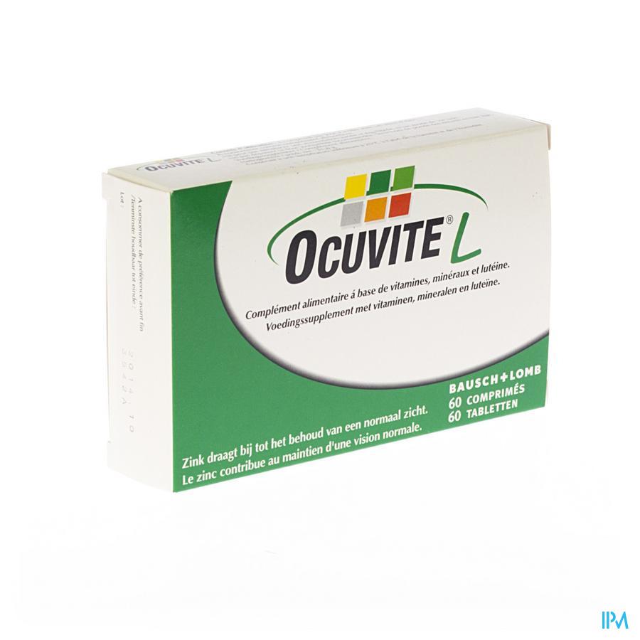 OCUVITE LUTEINE VIT+MIN OGEN 60T