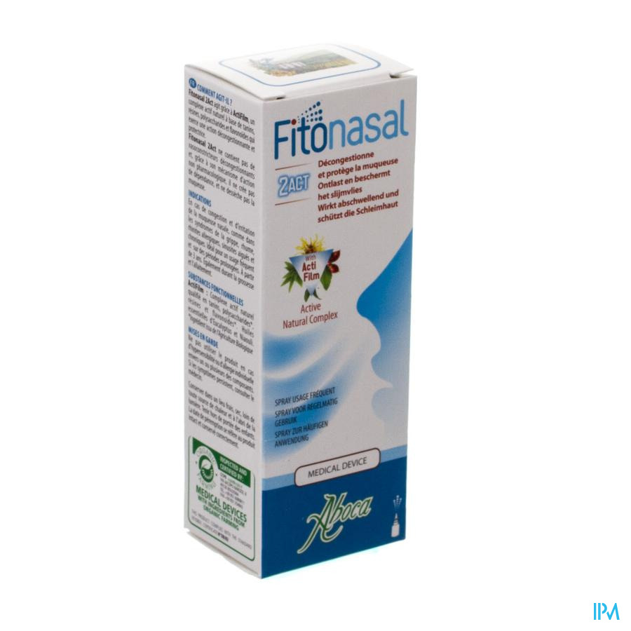 Fitonasal 2act Spray Nasal 15ml Aboca