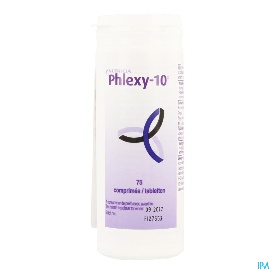 Phlexy 10 Tabletten 75 X 1,4g  -  Nutricia