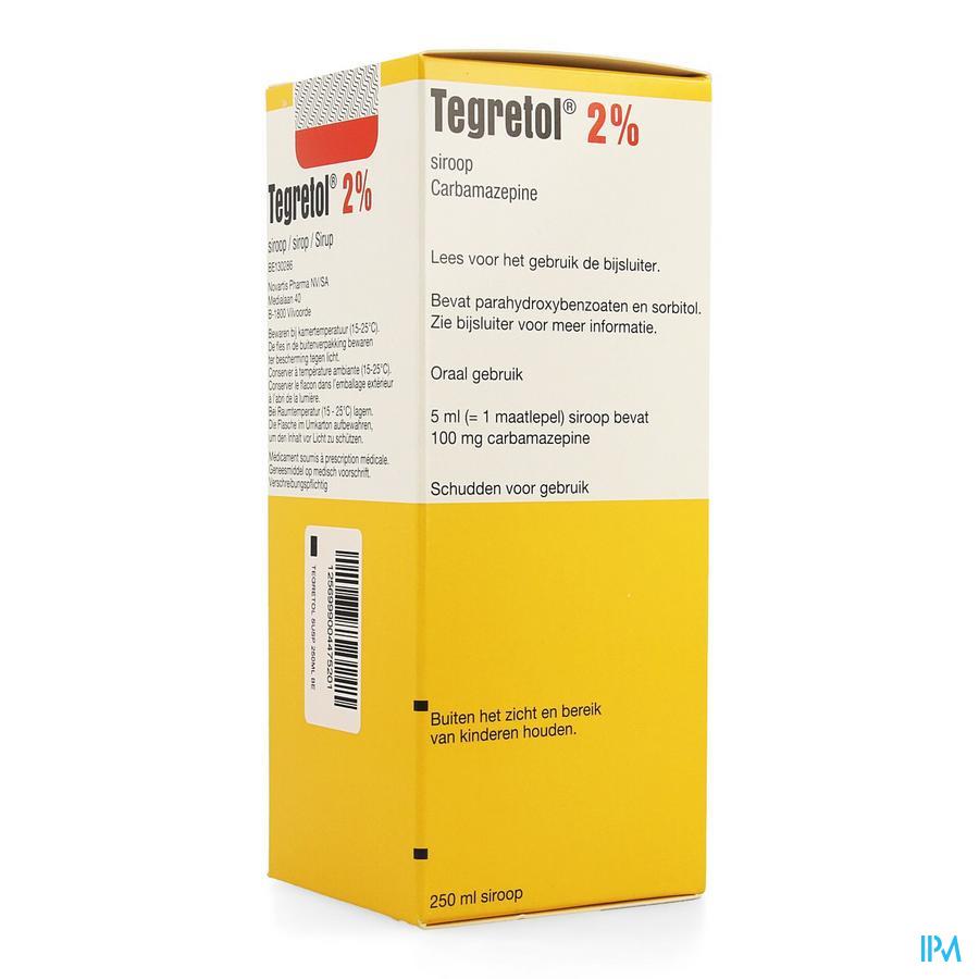 Tegretol 2% Sir 250ml