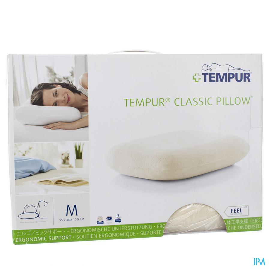 Tempur Oreiller Classic Hsse Vel.stand 55x38x10,5