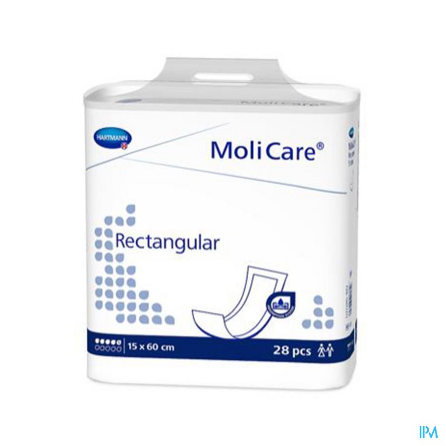 Molicare Rectangular 5d 15x60 28 P/s