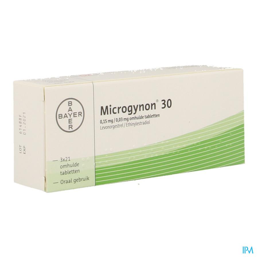 Microgynon 30 Drag 3 X 21