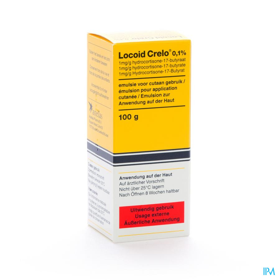 Locoid Crelo Emuls 100 ml 1 mg/g