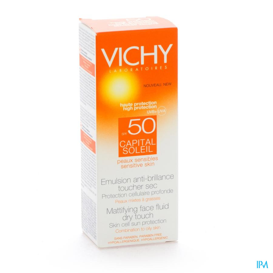 Vichy Cap Sol Ip50+ Cr Vis Dry Touch 50ml