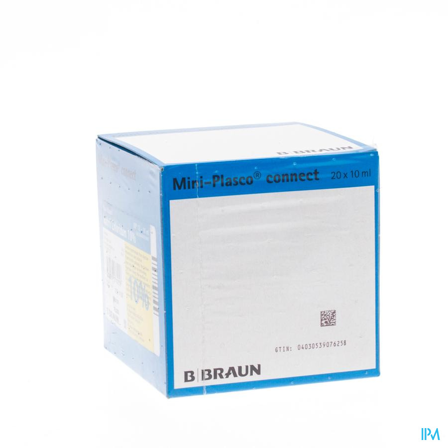 Mini Plasco Nacl 10 % 20 X 10 ml