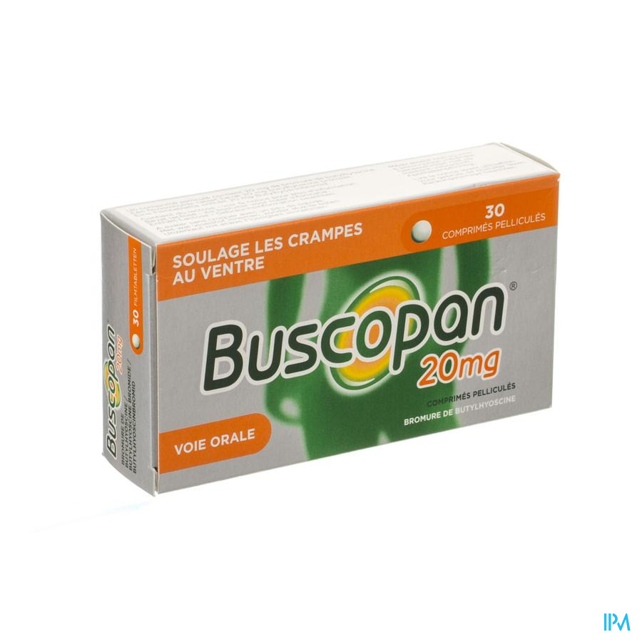 Buscopan 20mg Comp Pell 30