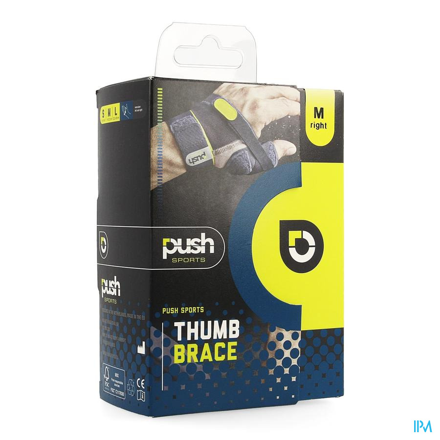 Push Sports Duimbrace M Rechts