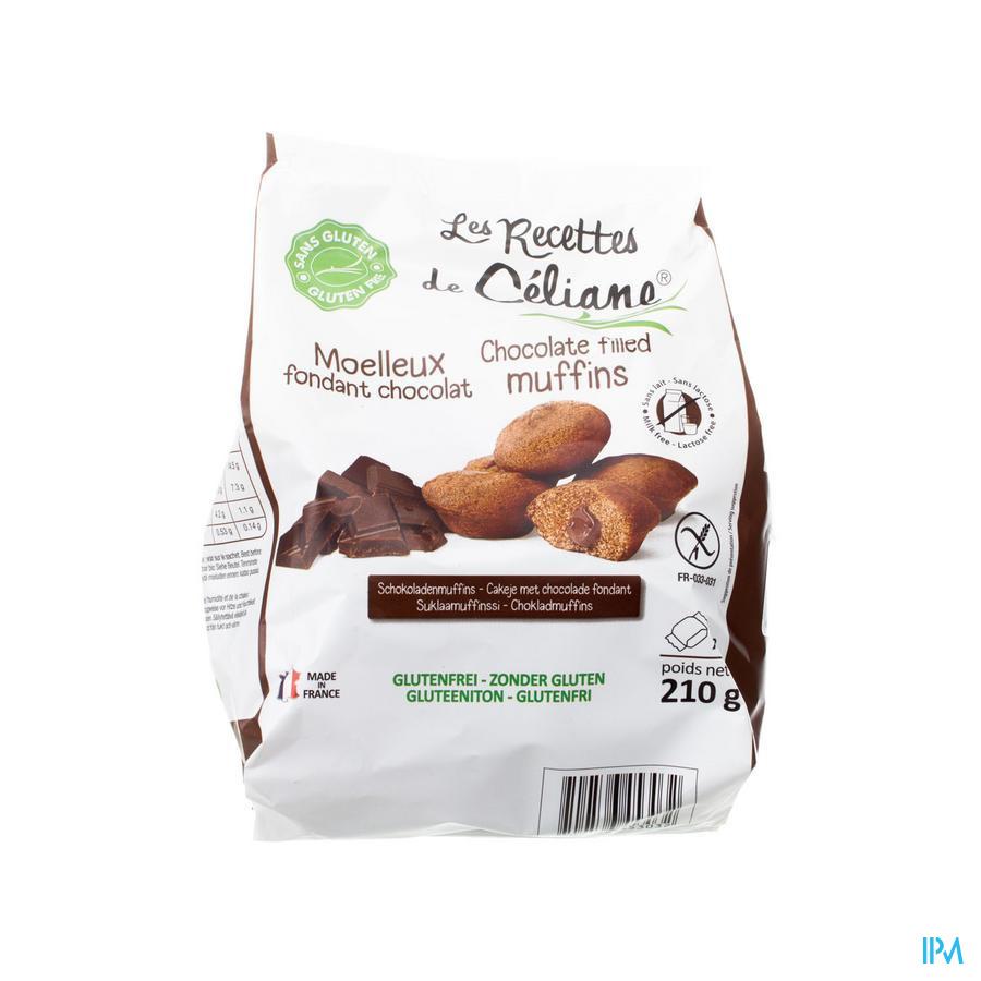 Celiane Cakeje Hart Chocolade Glutenvrij 210g 4579