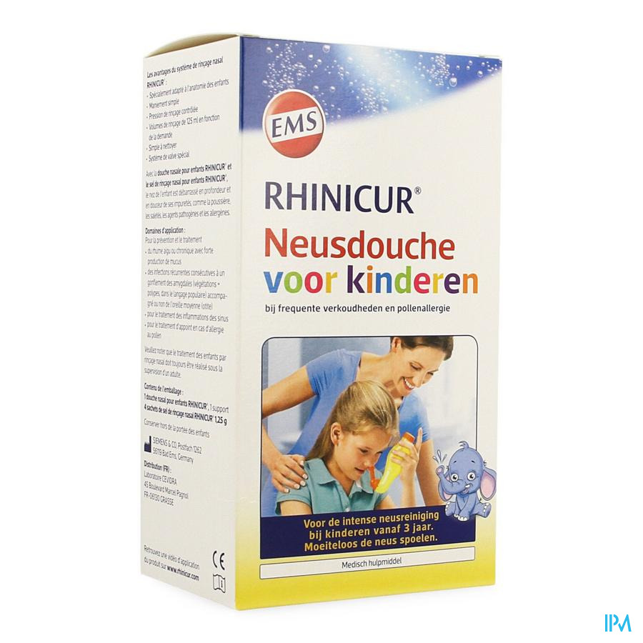 Rhinicur Neusdouche Kinderen