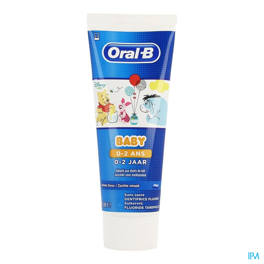 Oral B Dentifrice Baby Winnie The Pooh 0-2 Ans