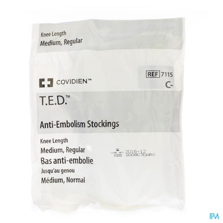 Ted Bas Genou 71150 M Regul Blanc