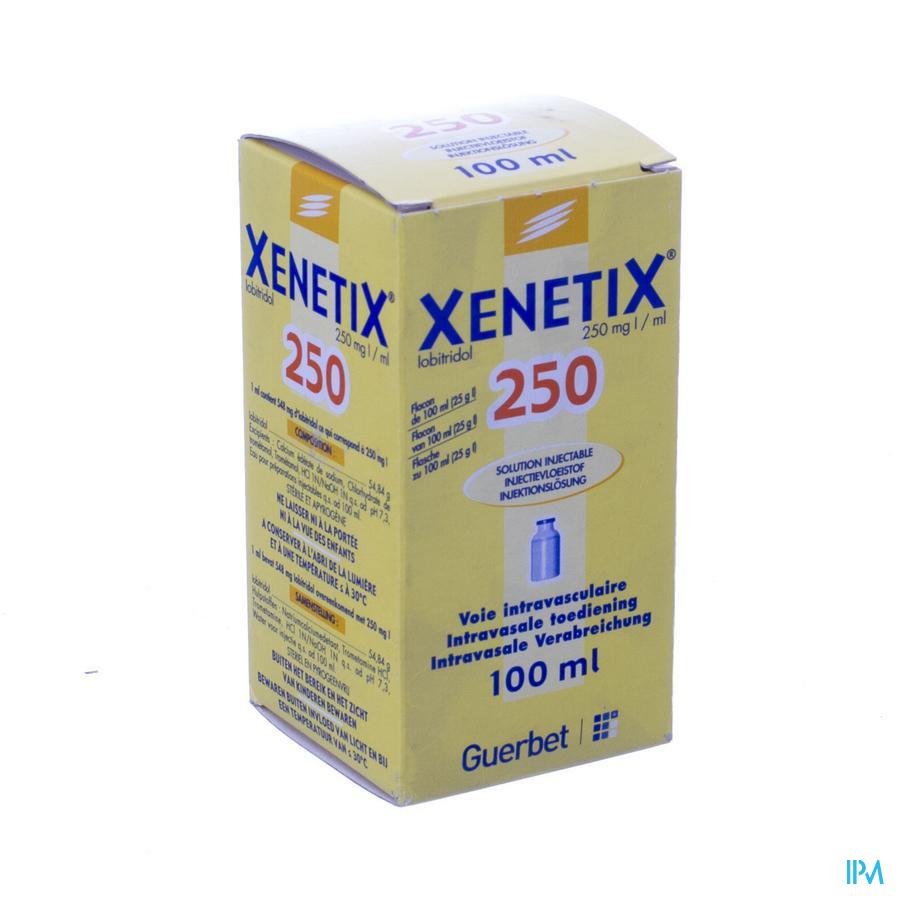 Xenetix Sol Inj 250mg/1ml 100ml