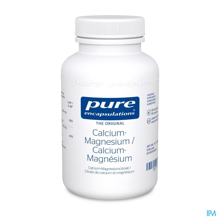 Pure Encapsulations Calcium-magnesium caps 90