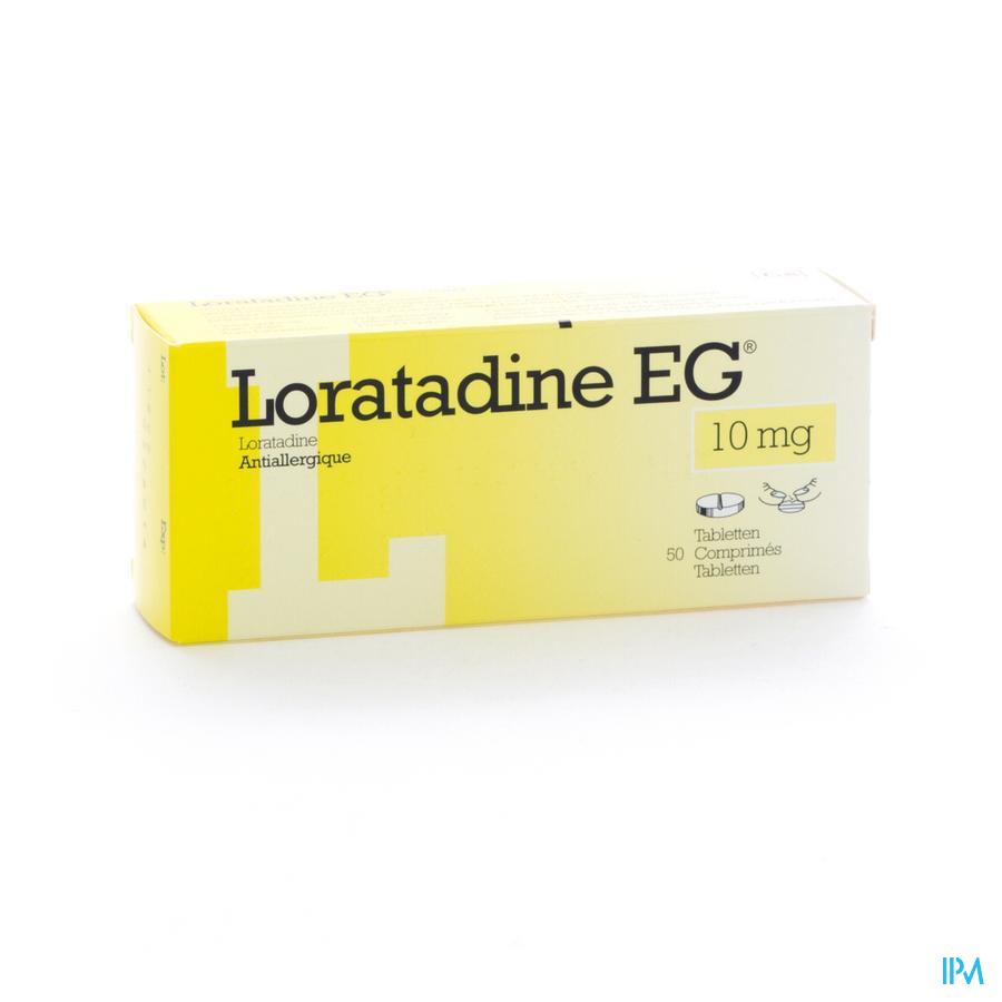 LORATADINE EG 10 MG TABL 50 X 10 MG