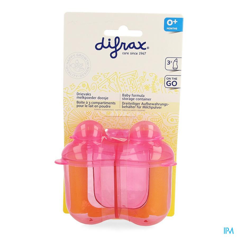 Difrax Drievaksdoosje Voor Melkpoeder 668