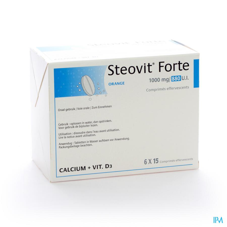 STEOVIT D3 1000MG/880 UI  COMP EFF 90