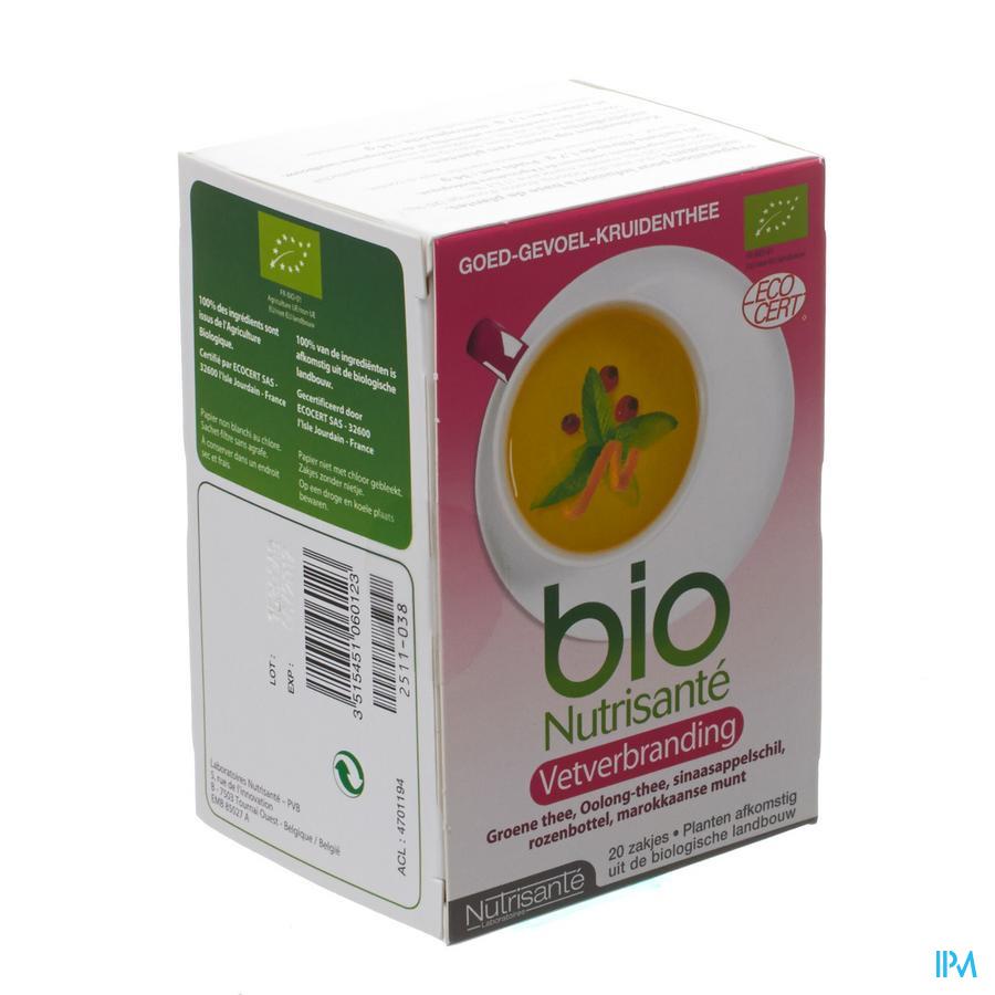 Infusie Bio Vetverbrander Zakje 20