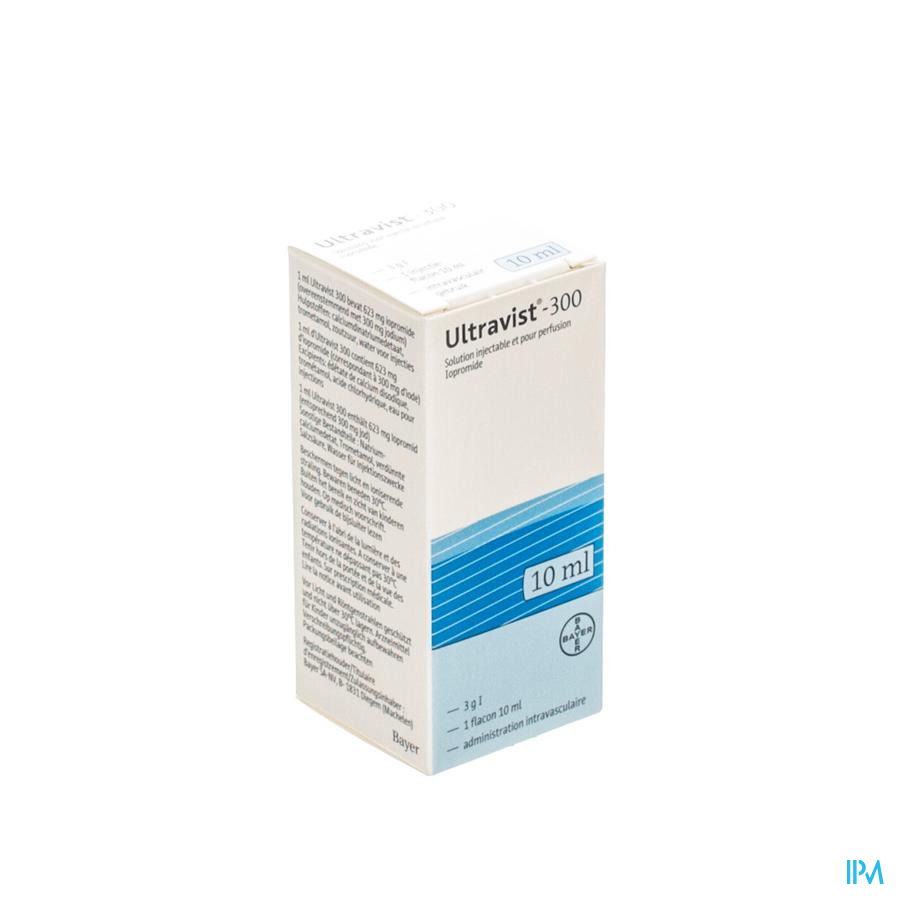 Ultravist 300 Fl Inj 1 X 10ml