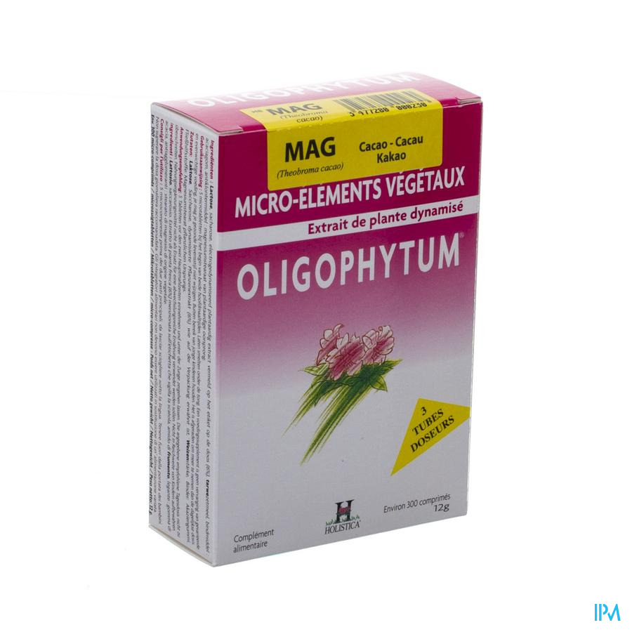 Oligophytum Magnesium Tube Comp 3x100 Holistica