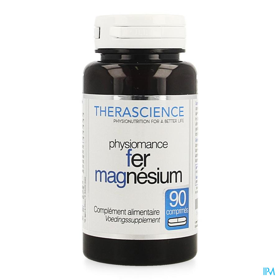 Ijzer Magnesium Comp 90 Physiomance Phy274