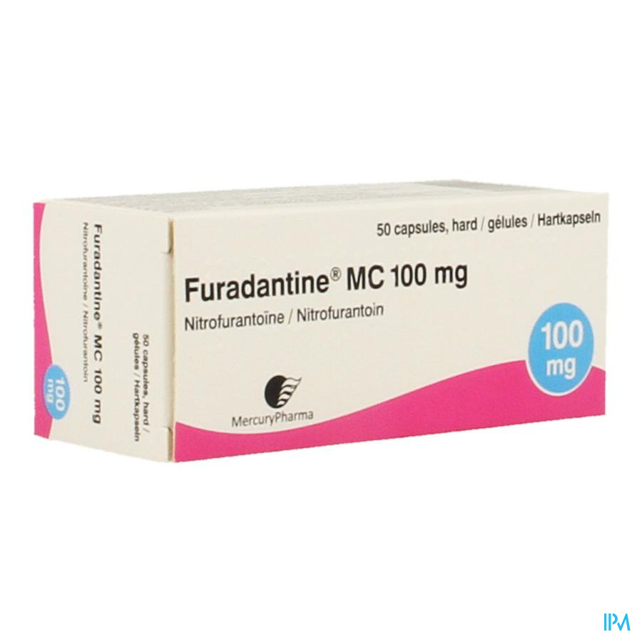 Furadantine Mc Caps 50 X 100mg