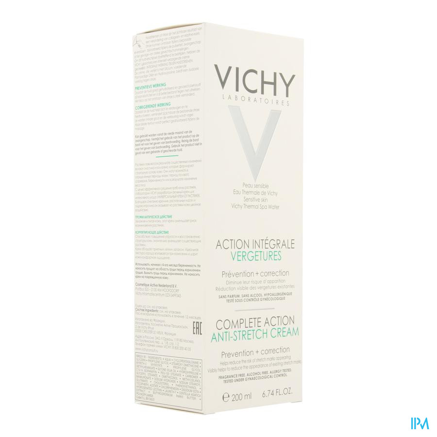 Vichy Soin Corp. Action Integrale Vergetures 200ml