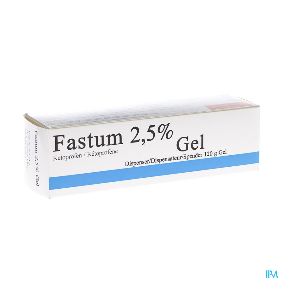 Fastum Gel 2,5% Impexeco Dispenser 120g Pip