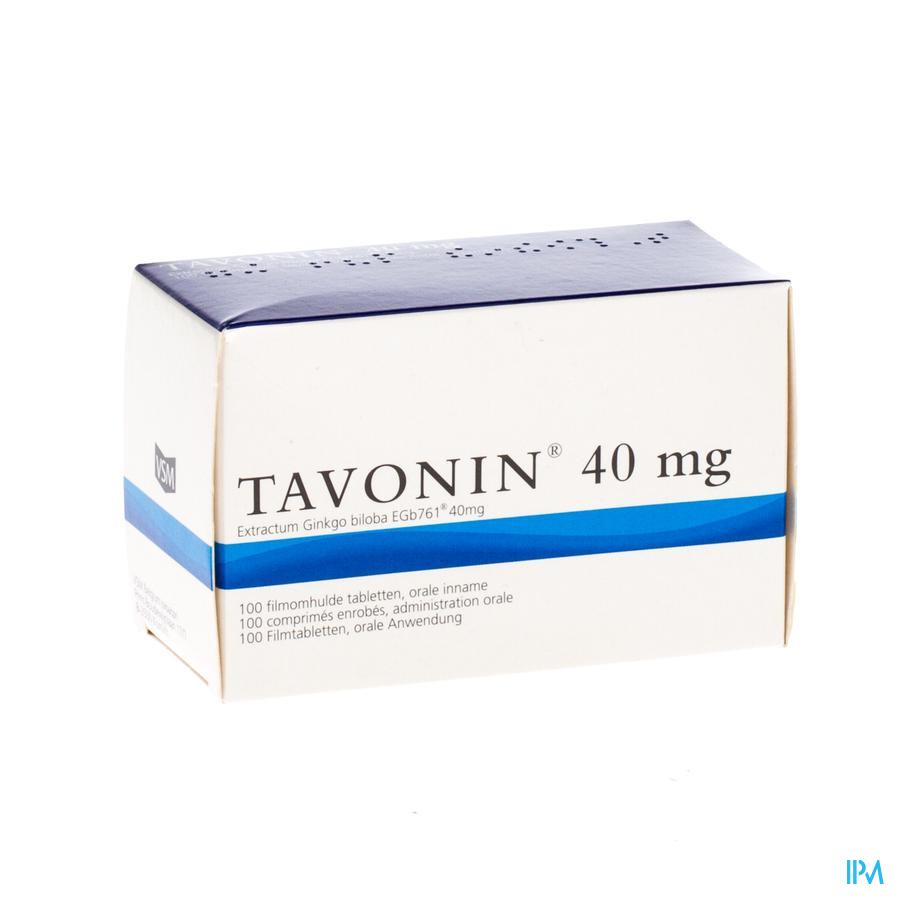Tavonin® 40 Mg 100 Tabletten