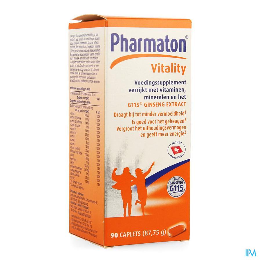 Pharmaton Vitality Caplets 90 Nf