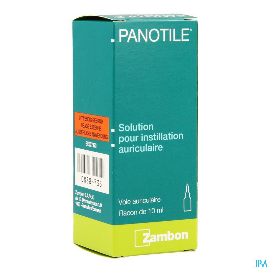 Panotile Gutt. Otic. 10ml