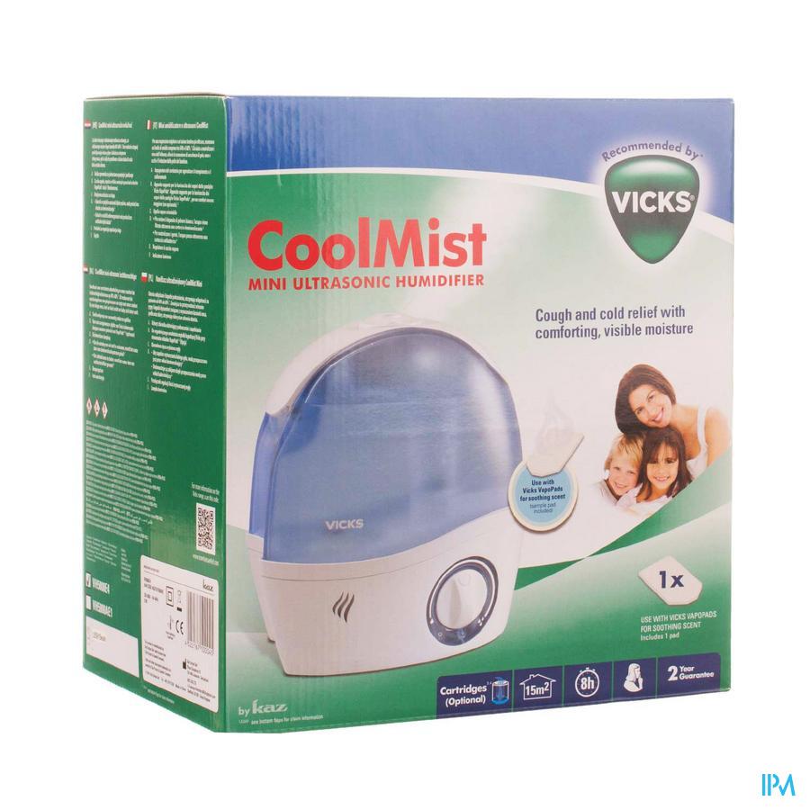 Vicks Vh-5000e Luchtbevochtiger Ultrasoon