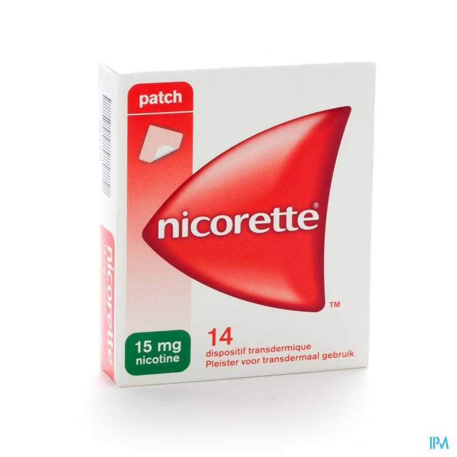 NICORETTE 15MG SYST TRANSDERM. 16H/16U 14 X 15MG